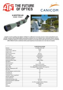 x spotter 20-80x smart hd optics day and night sporting scope