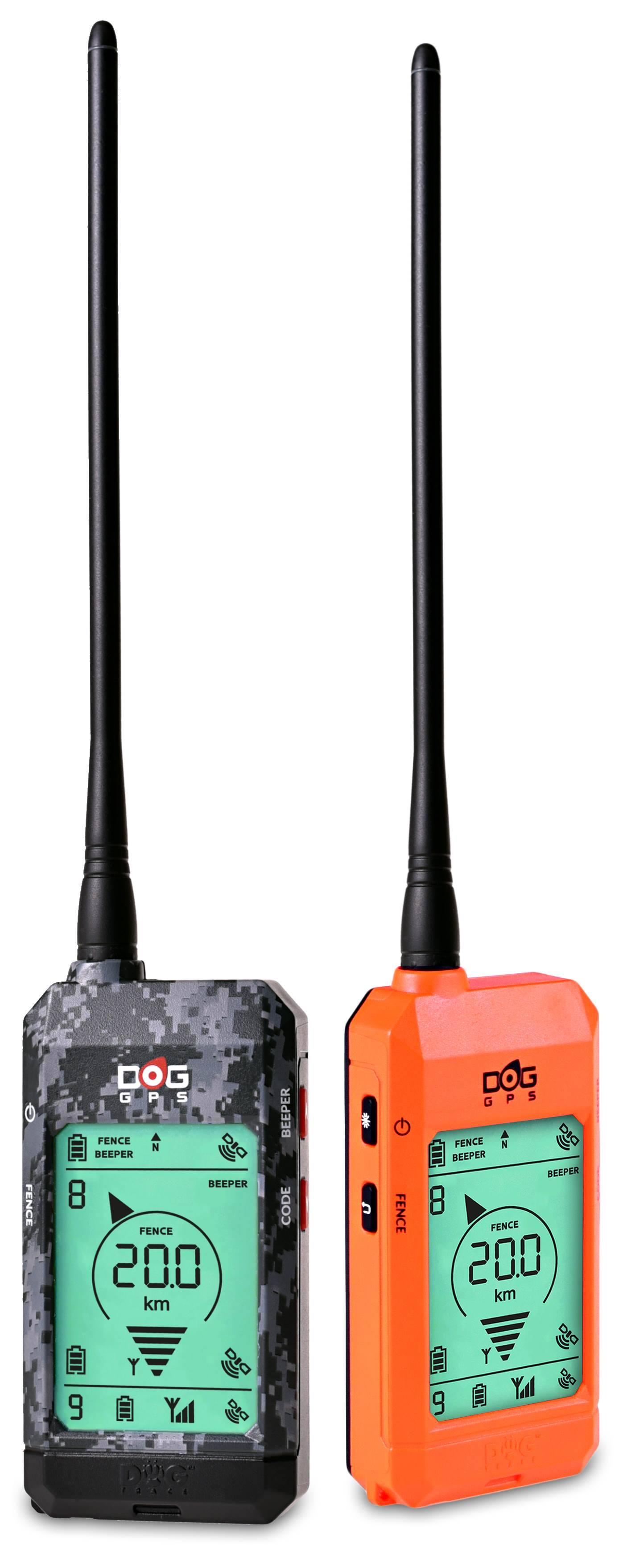 Collari GPS Dogtrace X20+ camo e orange