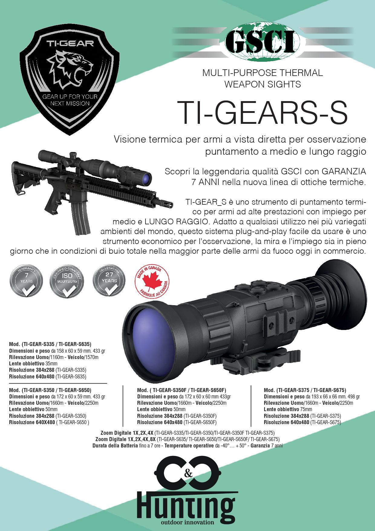 Volantino GSCI Ti-Gears-S
