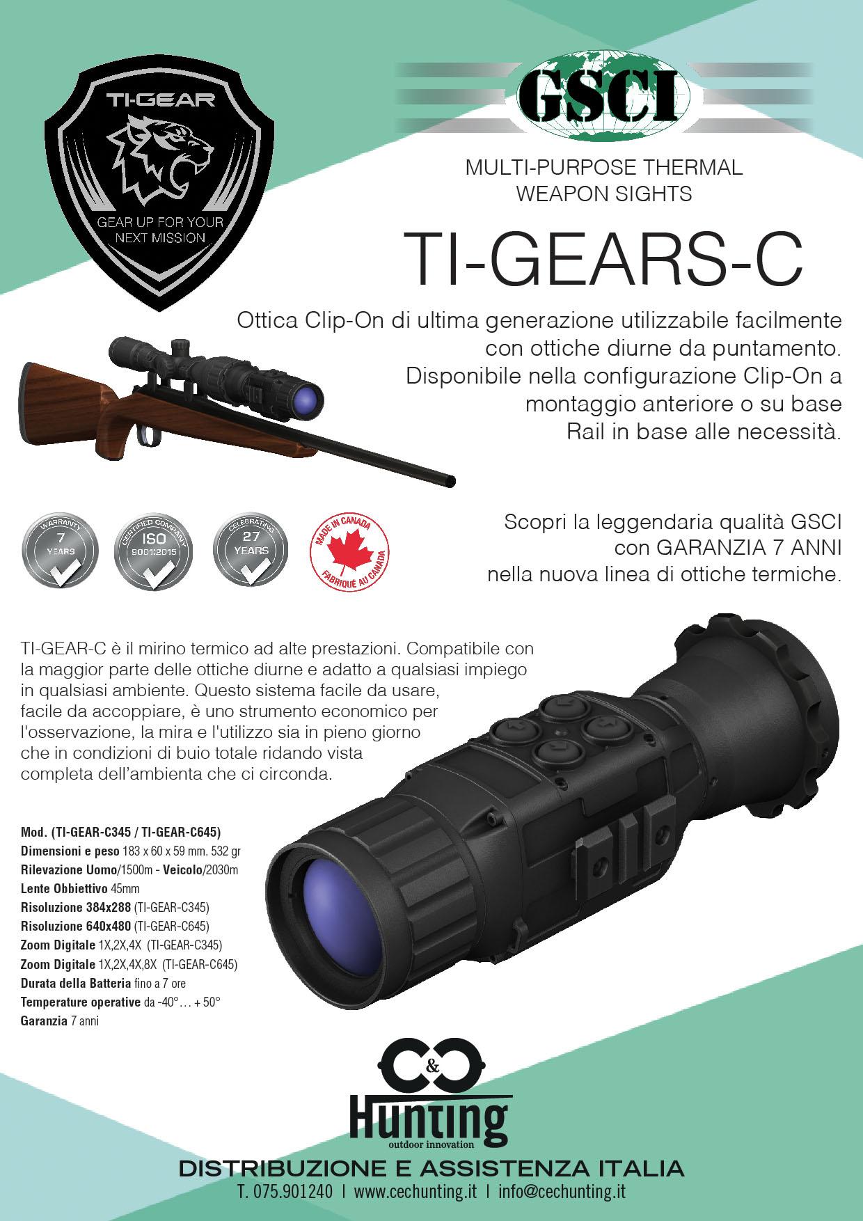 Volantino GSCI Ti-Gears-C